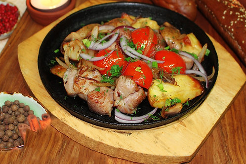 Оджахури (свинина с овощами)