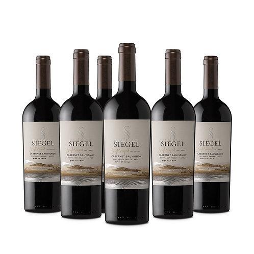 Siegel Single Vineyard Premium, Cepas Tintas 750 cc ,6 Pack