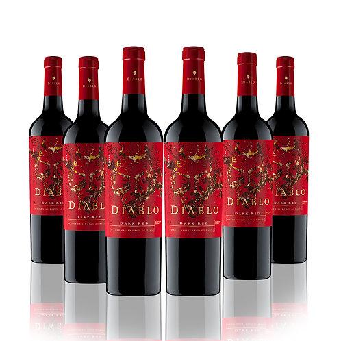 Diablo Dark Red , Ensamblaje , 750 CC 6 Pack