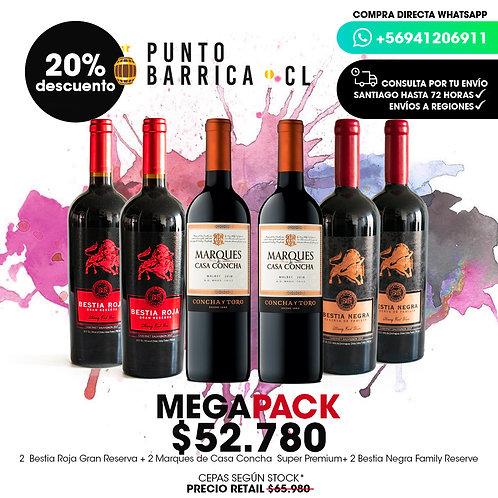 Megapack 1 Bestia Roja, Bestia Negra, Marqués Casa Cocha