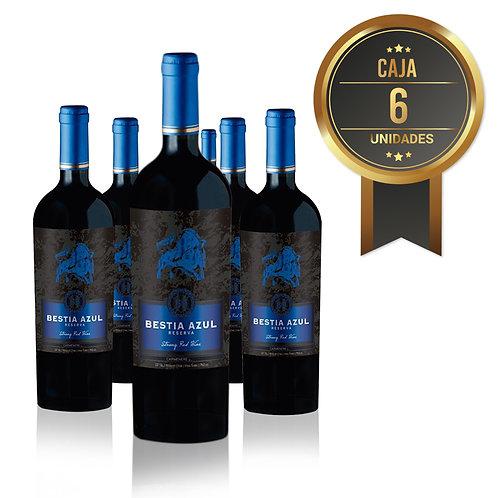 6 Pack, Bestia Azul, Cabernet Sauvignon, Reserva, Viña BestiaWines
