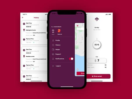 Stroller Rental System & App