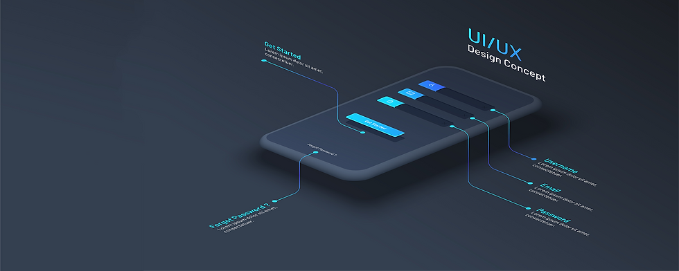 SB Develops user experience and user interface