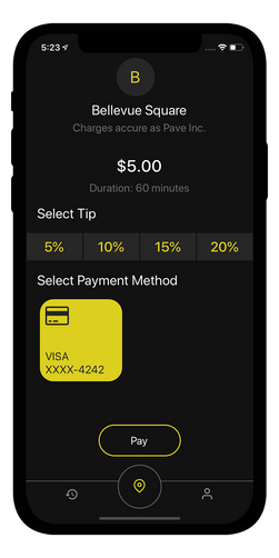 sbdevelops - valet app project screenshot #2