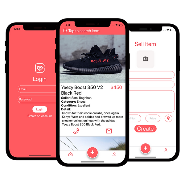 Minimal Clay UI Mockup with Gradient Background for Phone App with Download Button (14).pn