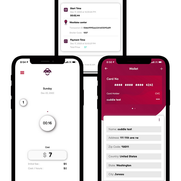 Minimal Clay UI Mockup with Gradient Background for Phone App with Download Button (17).pn