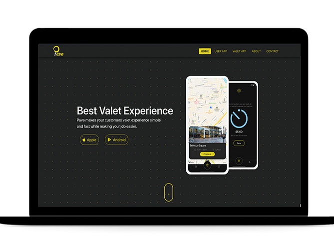 sbdevelops - business landing page project screenshot #1