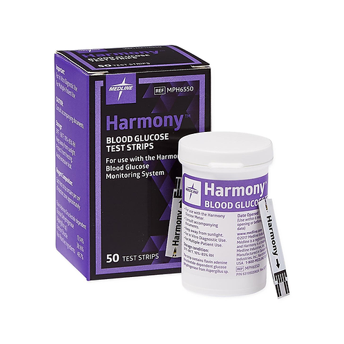 Harmony Blood Glucose Test Strips
