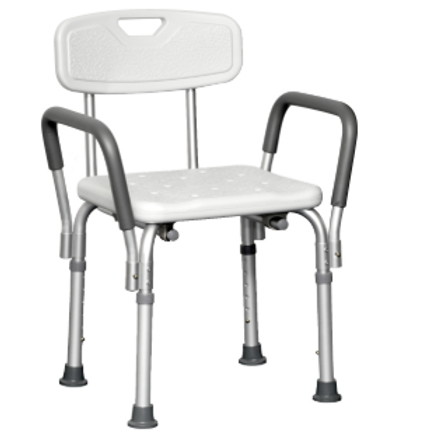Shower Chair with Padded Arms