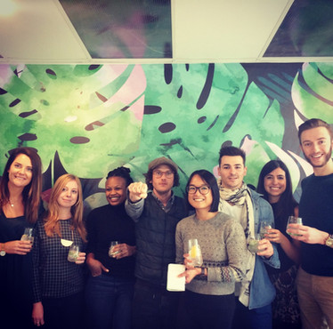 Seedlip founder, Ben Branson, with the Foodism Canada team