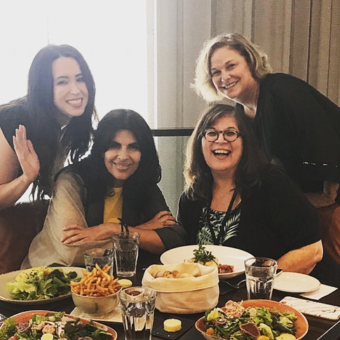 When foodies collide. Lunch with Anjum Anand and Rita DeMontis, national lifestyle and food editor for Sun Media