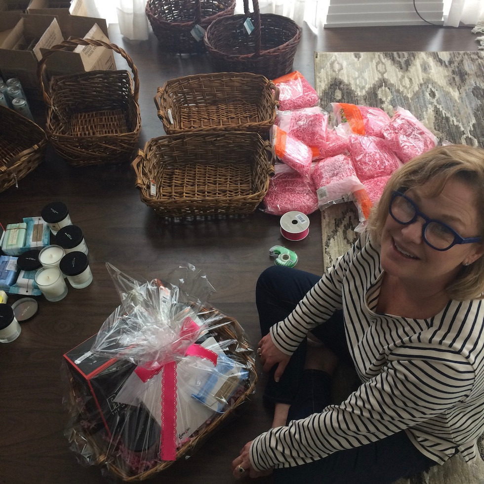 Full-time PR pro, part-time mailer packer. This was a care package for moms from Montes wines