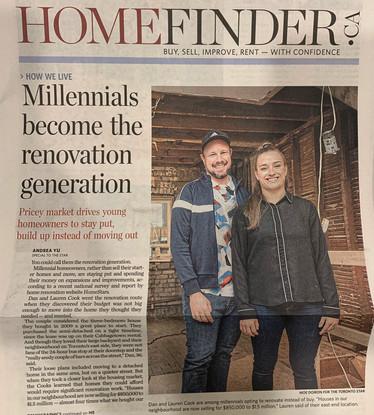 HomeStars Reno Report in the Toronto Star