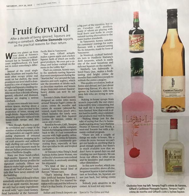 Giffard x Globe and Mail