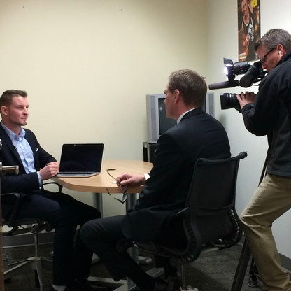 Sharing online security tips from OVH with CTV's Pat Foran for 'Consumer Alert'