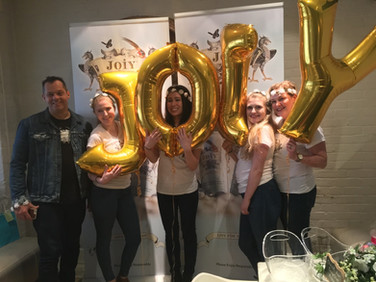 JOIY sparkling wine launch at Wish restaurant in Toronto
