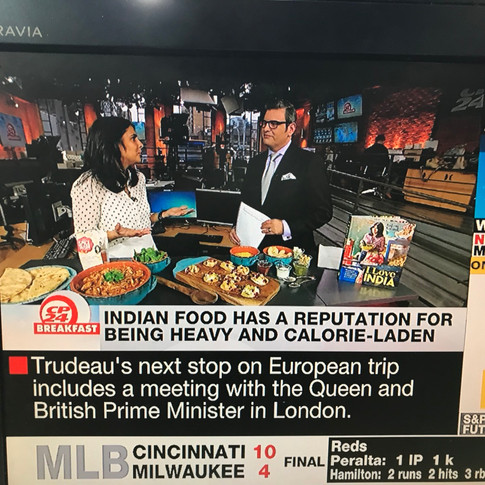 Indian food education on CP24