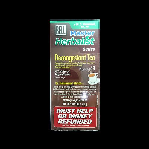 #43 Bell Decongestant Tea