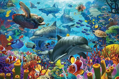 Cobble Hill Coral Sea Puzzle