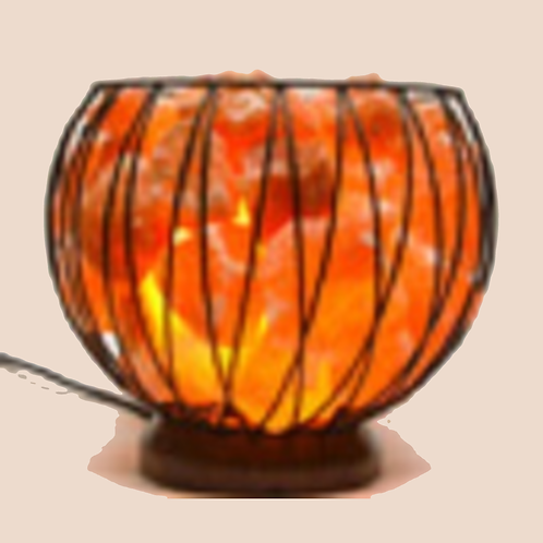 Iron Basket w Chunks 8 inch