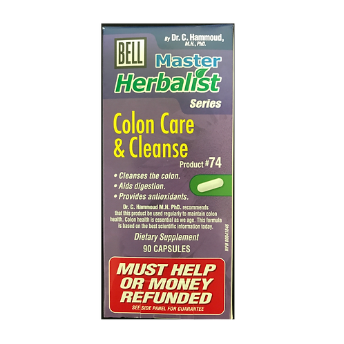 #74 Bell Colon Care & Cleanse