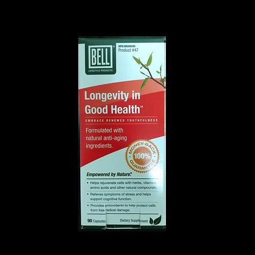 #47 Bell Longevity in Good Health