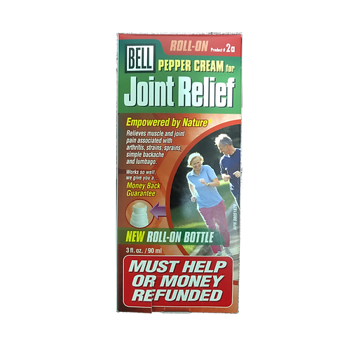 #2a Pepper Cream for Joint Relief Roll-On