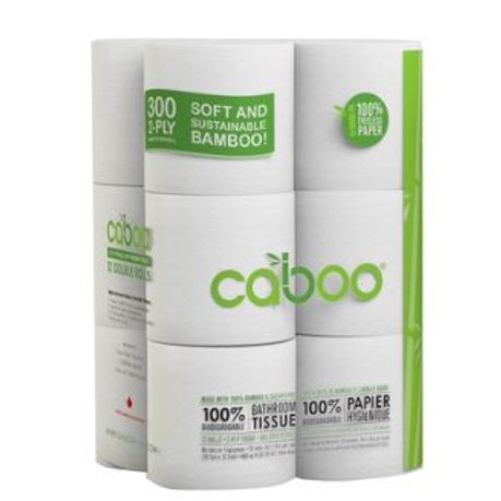 Caboo Bamboo 2 Ply Toilet Tissue
