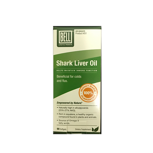 #51 Bell Shark Liver Oil