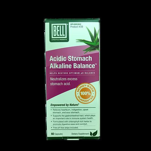 #39 Bell Acidic Stomach Alkaline Balance