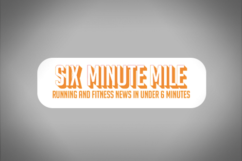 Six Minute Mile Sticker