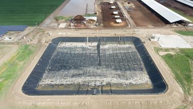 Five H Farms Digester - Merced, California