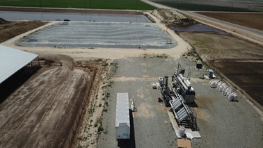 FM Jerseys Dairy Digester - Tipton, CA