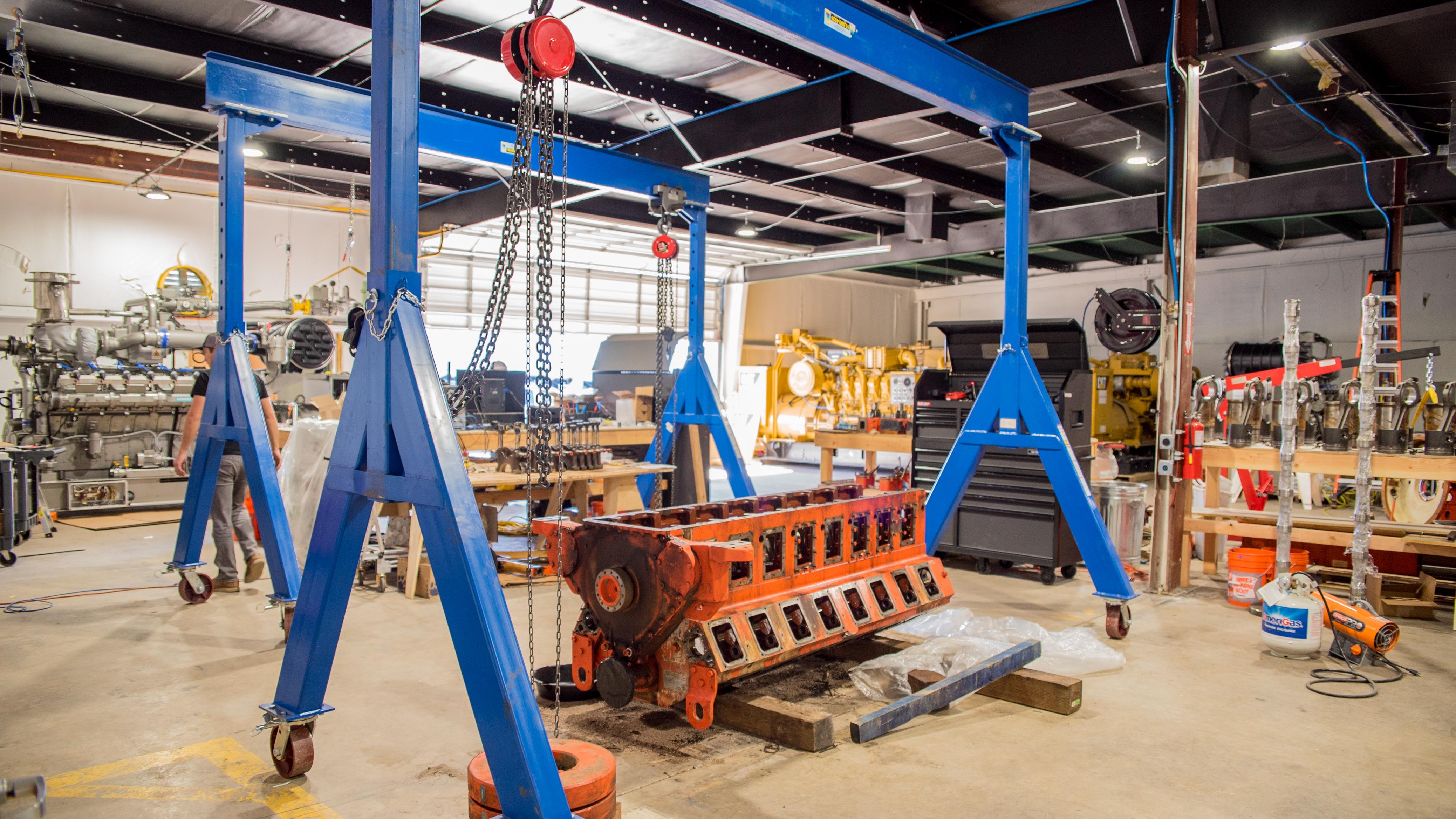 Maas Motor Works (Shop Interior)