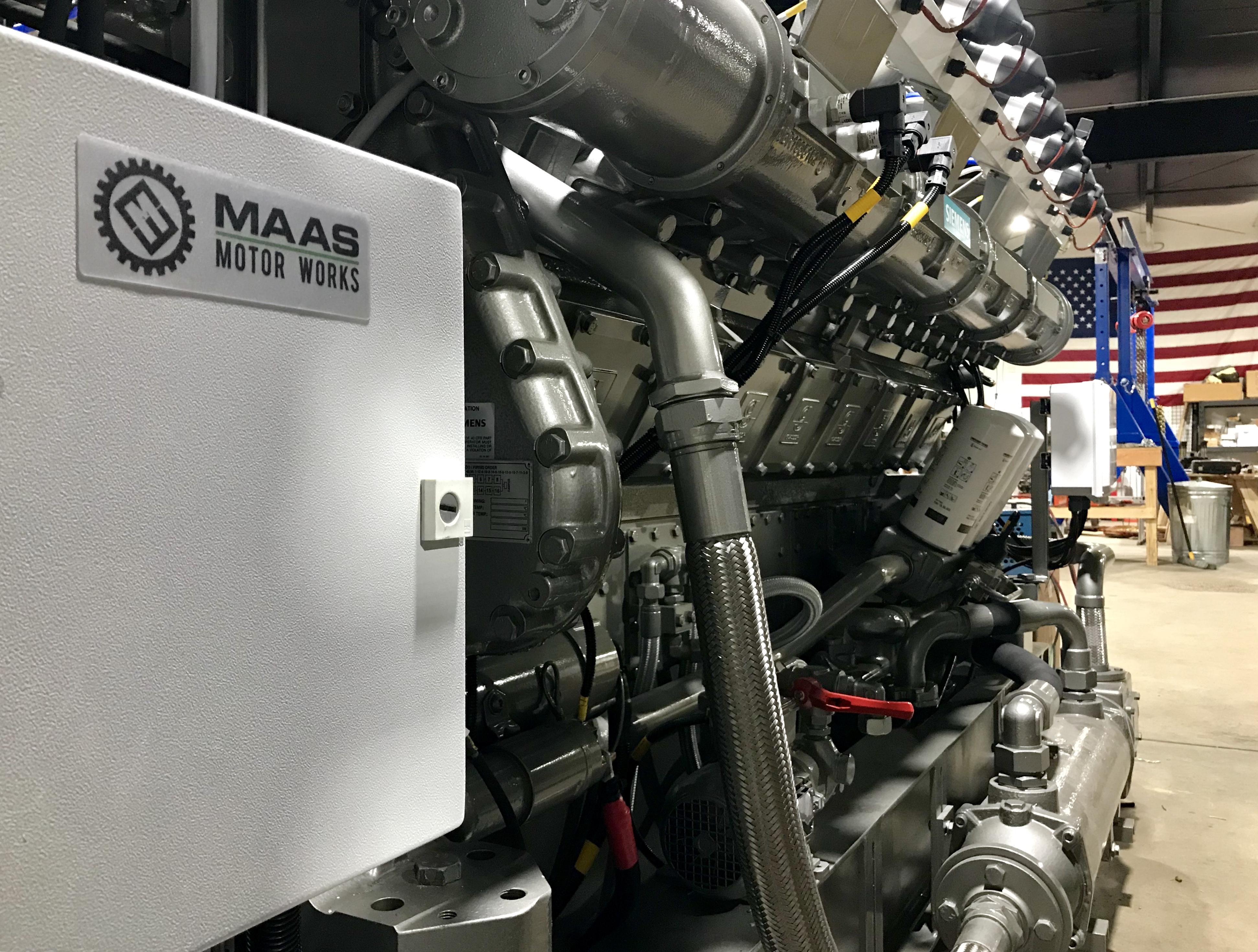Maas Motor Works - 800 kW Genset