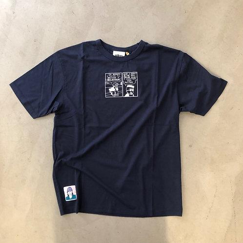 Short Sleeve Tee - Beatnik - Navy