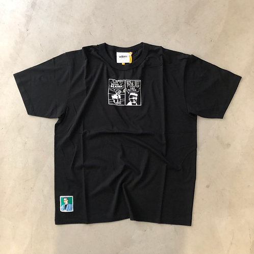 Short Sleeve Tee - Beatnik - Black