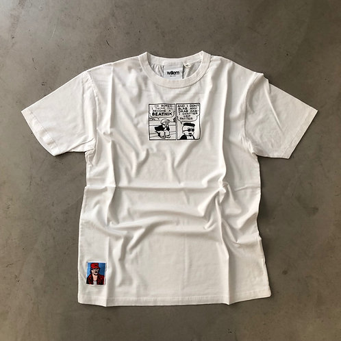 Short Sleeve Tee - Beatnik - White