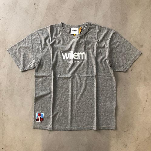 Short Sleeve Tee - NY - Grey
