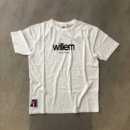 Short Sleeve Tee - NY - White