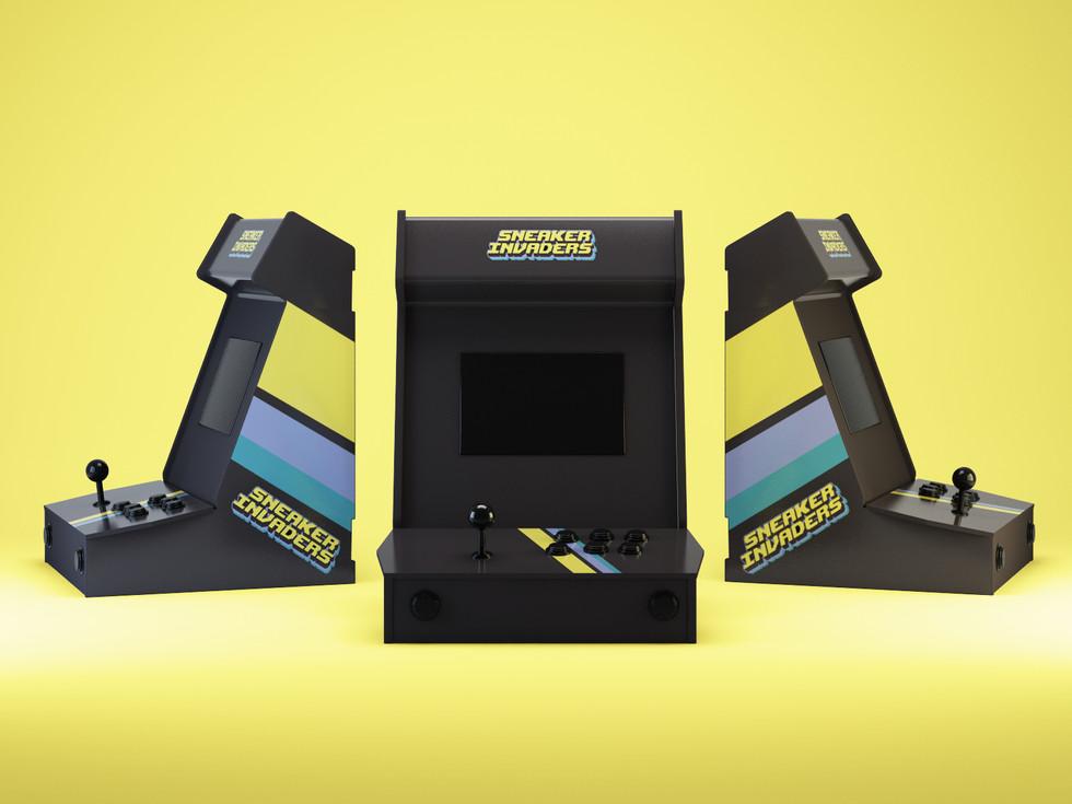 Sneaker Invaders - Mini Arcade