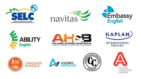 estudiar en australia, selc, navitas, embassy english, ability english, kaplan, access language center, academies