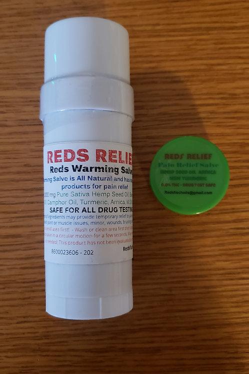 Reds Relief Warming Salve Combo