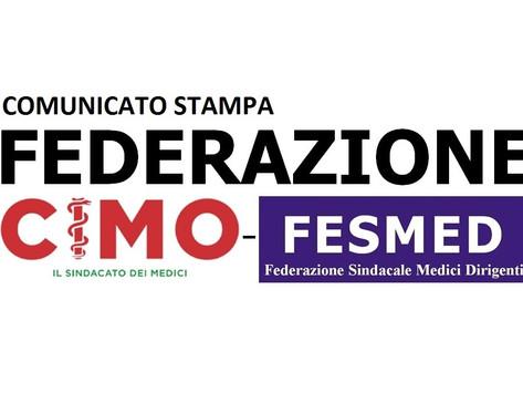 CRESCE LA FEDERAZIONE CIMO-FESMED