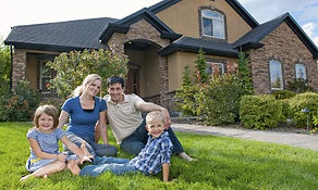 happy family in a pest free home