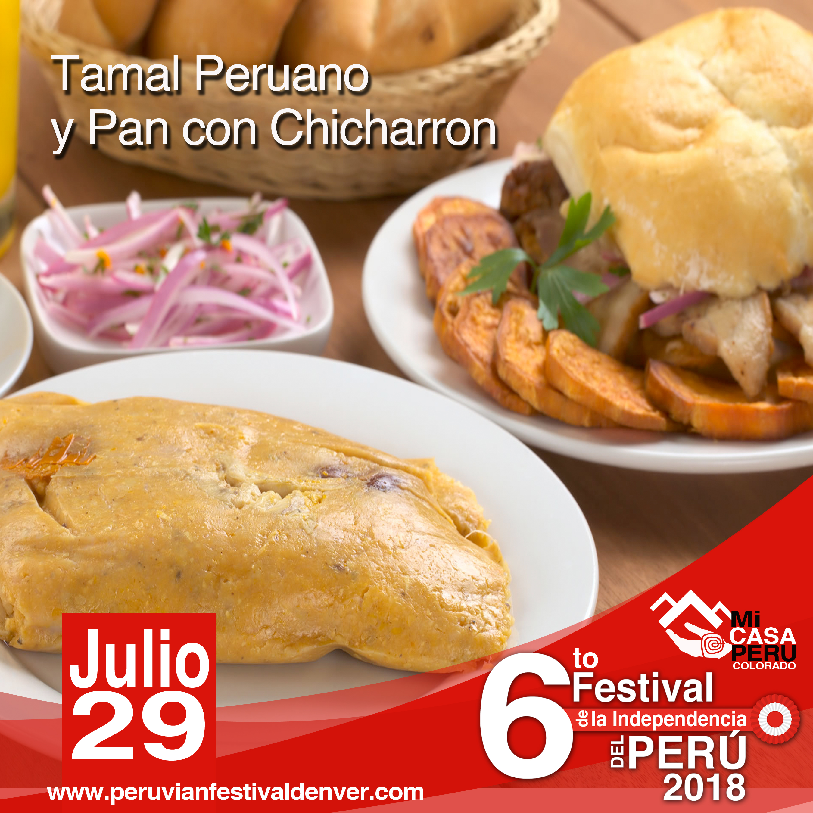 tamal & Chicharron