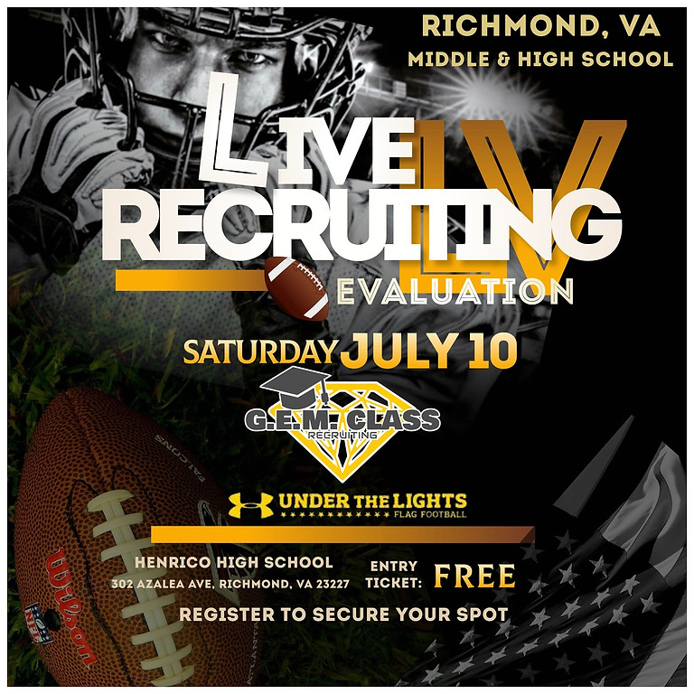 FREE Live Recruiting Evaluation