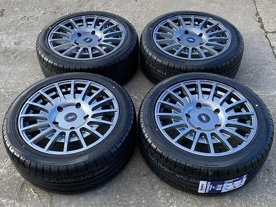 "18"" Ford Transit Custom MSRT Style Alloy Wheels & Tyres 5X160"