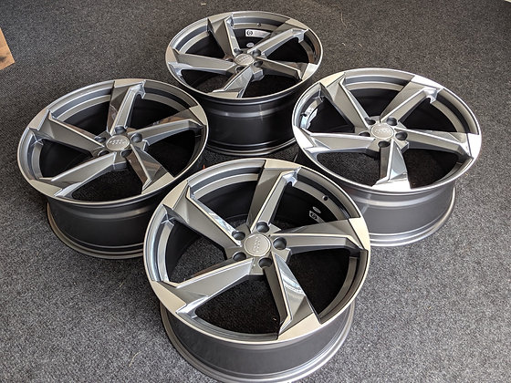 "20"" Audi Rotor Style Alloy wheels 5X112"