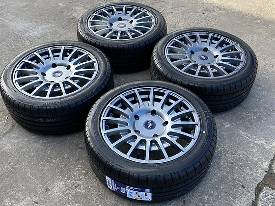 """18"""" Ford Transit Connect MSRT Style Alloy Wheels & Tyres 5X108"""